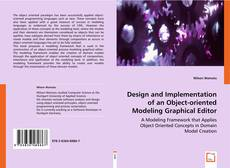 Capa do livro de Design and Implementation of an Object-oriented  Modeling Graphical Editor