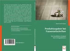 Bookcover of Produktzugaben bei Frauenzeitschriften