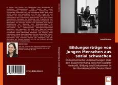 Bookcover of Bildungserträge von jungen Menschen aus sozial schwachen Familien