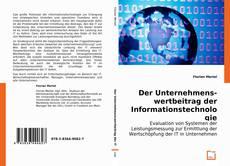 Buchcover von Der Unternehmenswertbeitrag der Informationstechnologie