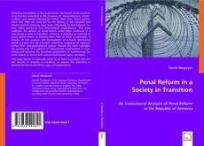 Borítókép a  Penal Reform in a Society in Transition - hoz