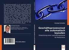 Buchcover von Geschäftsprozessmodelle automatisch layouten
