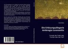 Buchcover von Die Erlösungsallegorie Ambrogio Lorenzettis