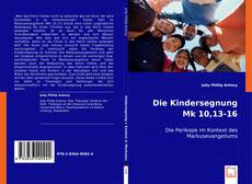 Capa do livro de Die Kindersegnung Mk 10,13-16