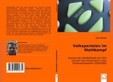 Volksparteien im Wahlkampf kitap kapağı