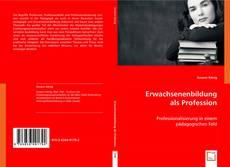 Buchcover von Erwachsenenbildung als Profession