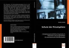 Schutz der Privatsphäre kitap kapağı