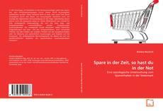 Capa do livro de Spare in der Zeit, so hast du in der Not