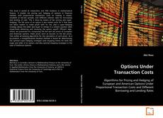 Bookcover of Options Under Transaction Costs