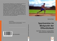 Bookcover of Sportvereine im Blickpunkt der Öffentlichkeit