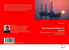 Capa do livro de Nachfrageverhalten bei Gütern