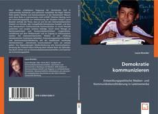 Demokratie kommunizieren kitap kapağı