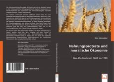 Capa do livro de Nahrungsproteste und moralische Ökonomie