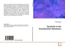 Copertina di Deutsche in der französischen Résistance