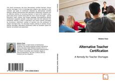 Copertina di Alternative Teacher Certification