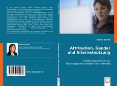 Bookcover of Attribution, Gender und Internetnutzung