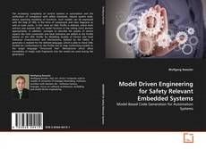Copertina di Model Driven Engineering for Safety Relevant Embedded Systems