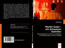 Portada del libro de Martin Suter - ein Schweizer Satiriker