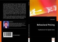 Buchcover von Behavioral Pricing