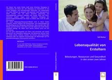 Buchcover von Lebensqualität von Ersteltern