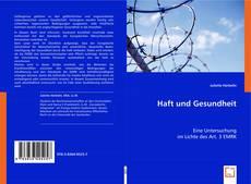 Buchcover von Haft und Gesundheit