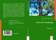 Bookcover of PSI in der Forschung