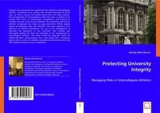 Bookcover of Protecting University Integrity