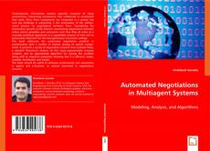 Bookcover of Automated Negotiations in Multiagent Systems