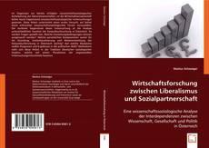 Copertina di Wirtschaftsforschung zwischen Liberalismus und Sozialpartnerschaft