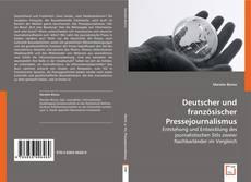 Deutscher und französischer Pressejournalismus kitap kapağı