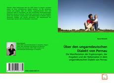 Bookcover of Über den ungarndeutschen Dialekt von Pernau