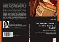Die britische Limited - Tod der deutschen GmbH?的封面