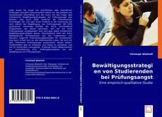 Bookcover of Bewältigungsstrategien von Studierenden bei Prüfungsangst