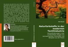 Naturfarbstoffe in der modernen Textilindustrie kitap kapağı