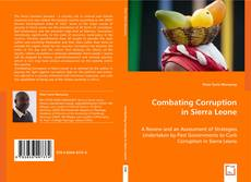 Bookcover of Combating Corruption in Sierra Leone