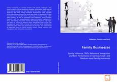 Capa do livro de Family Businesses