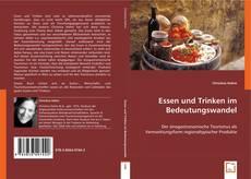Essen und Trinken im Bedeutungswandel kitap kapağı