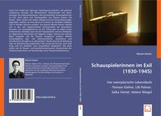 Buchcover von Schauspielerinnen im Exil (1930-1945)