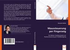 Capa do livro de Maussteuerung per Fingerzeig
