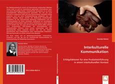 Capa do livro de Interkulturelle Kommunikation