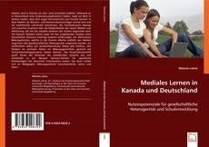 Buchcover von Mediales Lernen in Kanada und Deutschland