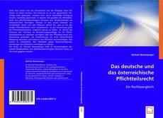 Bookcover of Das deutsche und das österreichische Pflichtteilsrecht