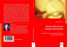 Bookcover of Online Alternative Dispute Resolution