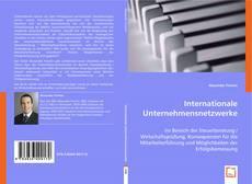 Internationale Unternehmensnetzwerke kitap kapağı