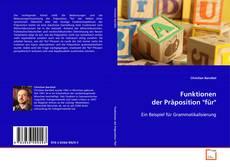"Funktionen der Präposition ""für""的封面"