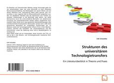 Portada del libro de Strukturen des universitären Technologietransfers