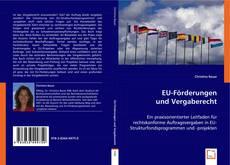 Buchcover von EU-Förderungen und Vergaberecht