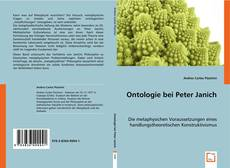 Bookcover of Ontologie bei Peter Janich