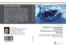 Bookcover of Probleme nachhaltiger ländlicher Trinkwasserversorgung in Malawi