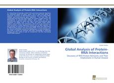 Couverture de Global Analysis of Protein-RNA Interactions